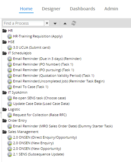 Processmaker project list web page.PNG