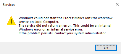 ProcessMaker Jobs for workflow not starting.png